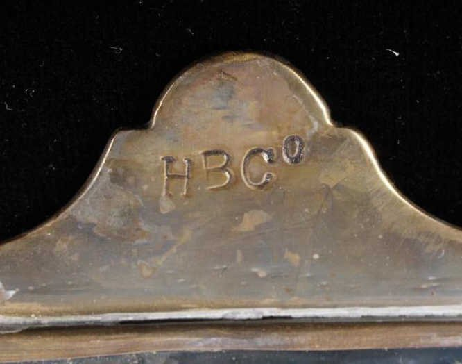 Hudson Bay Co. Silver Mirror Gorget c. 1680-1820 - 6