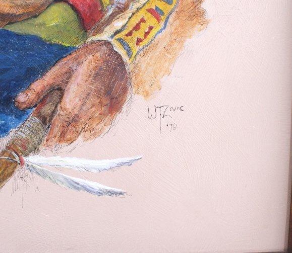 "Original Art Work ""Two Bear Walking"" William Zivic - 2"