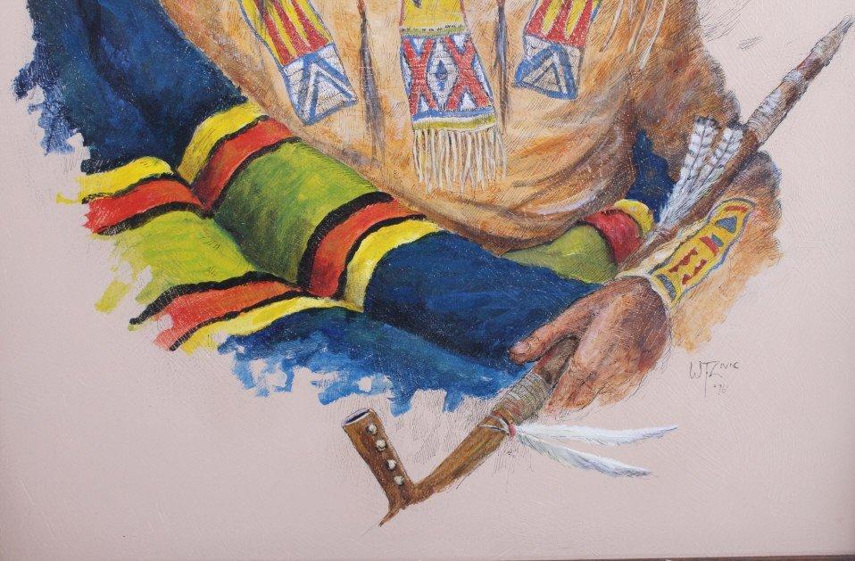 "Original Art Work ""Two Bear Walking"" William Zivic - 6"