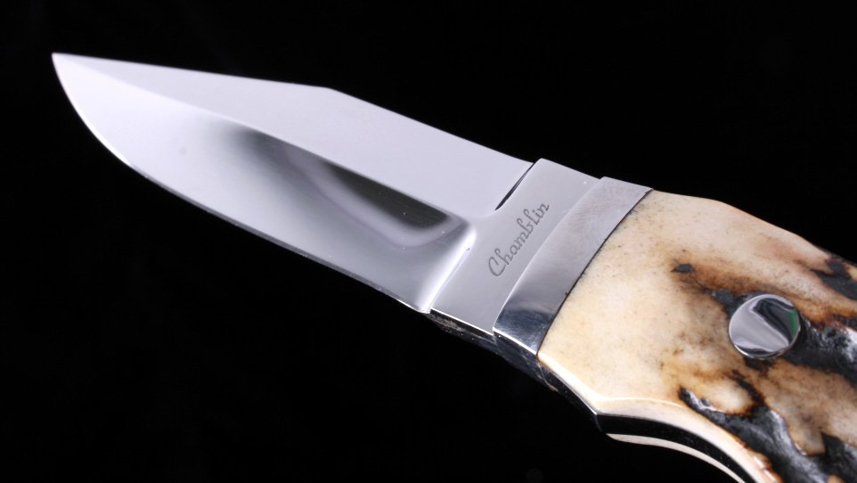 Joel Chamblin Custom Made Fixed Blade Knife - 2