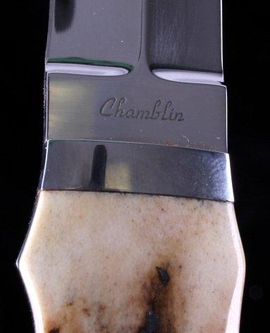 Joel Chamblin Custom Made Fixed Blade Knife - 3