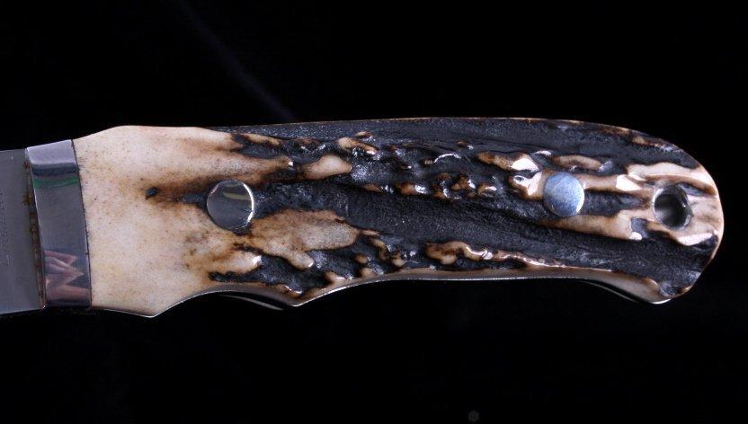 Joel Chamblin Custom Made Fixed Blade Knife - 5