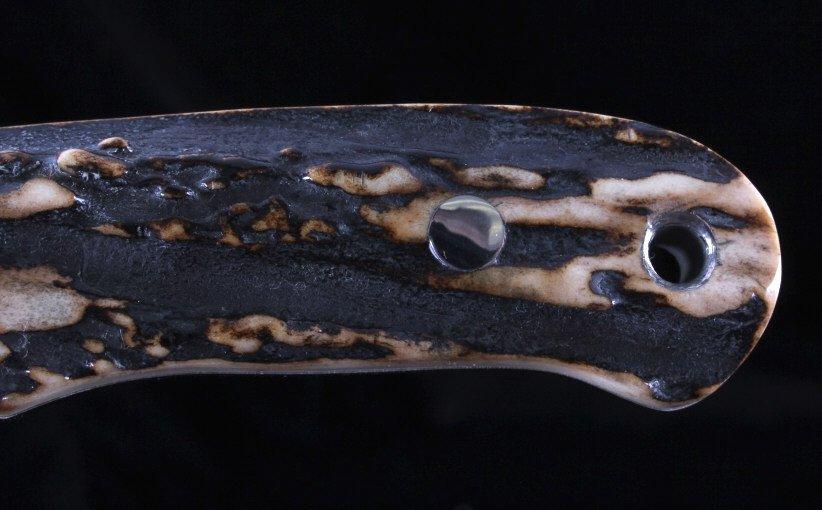 Joel Chamblin Custom Made Fixed Blade Knife - 6