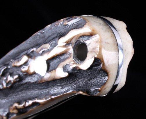 Joel Chamblin Custom Made Fixed Blade Knife - 8