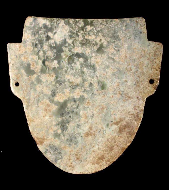 Olmec Pre-Columbian Jadeite Mask 1200-400BCE - 2