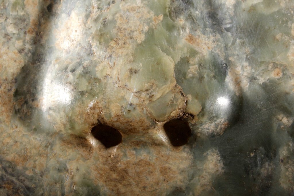 Olmec Pre-Columbian Jadeite Mask 1200-400BCE - 6