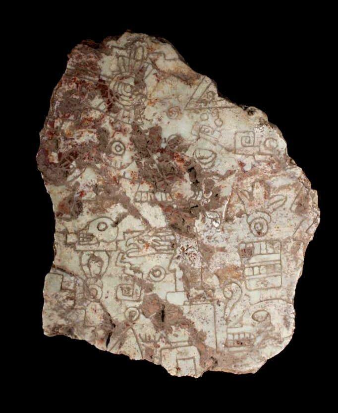 Pre-Columbian Central American Jadeite Plaque - 2