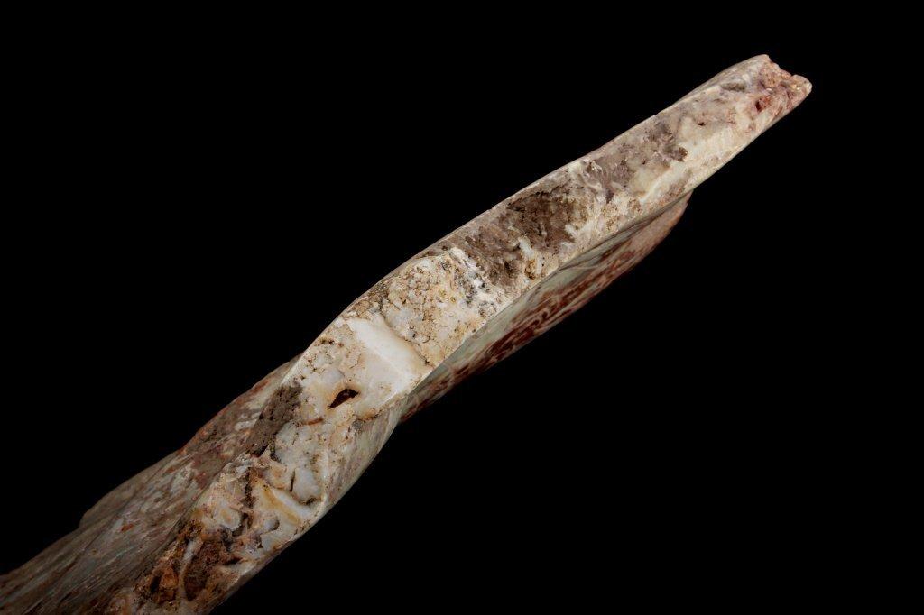 Pre-Columbian Central American Jadeite Plaque - 4