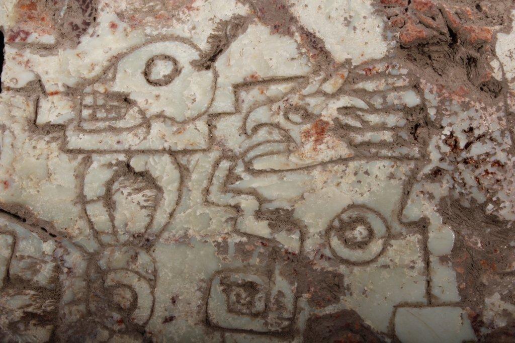 Pre-Columbian Central American Jadeite Plaque - 9