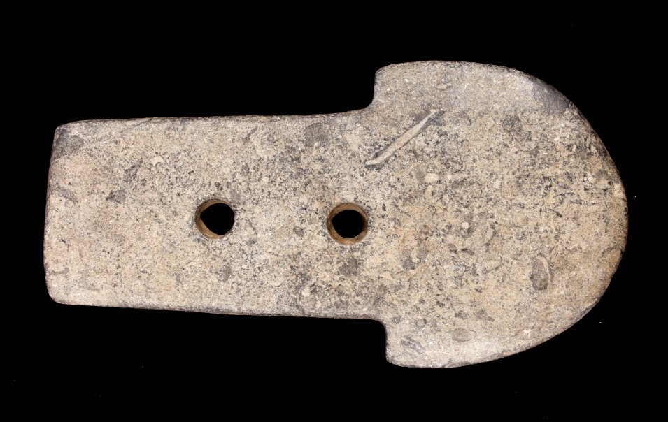 Moundville Mississippian Spud Gorget Artifact - 2