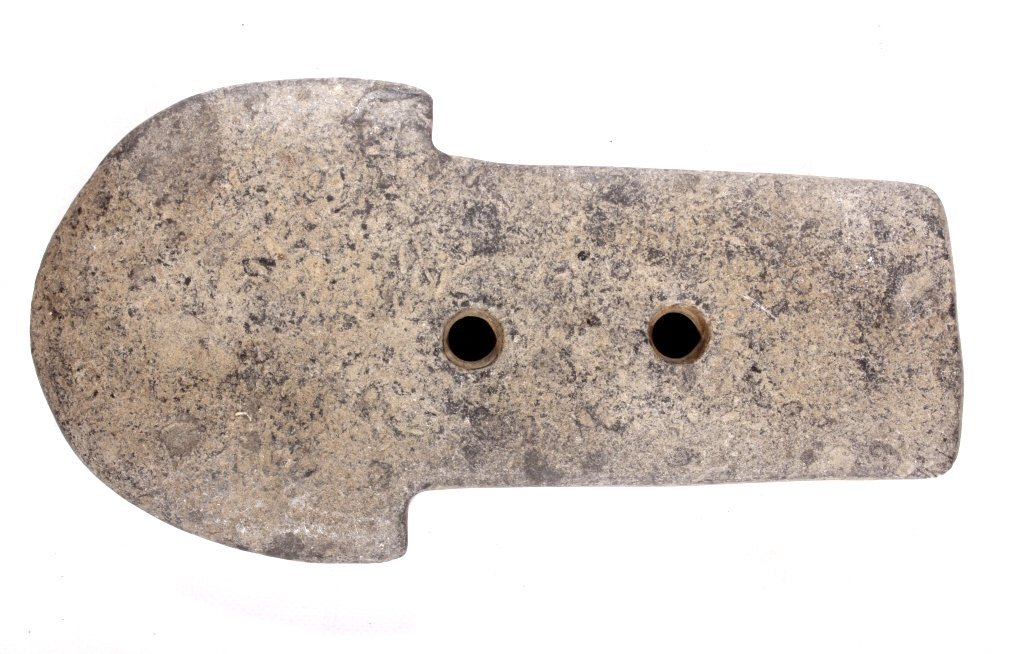 Moundville Mississippian Spud Gorget Artifact - 8