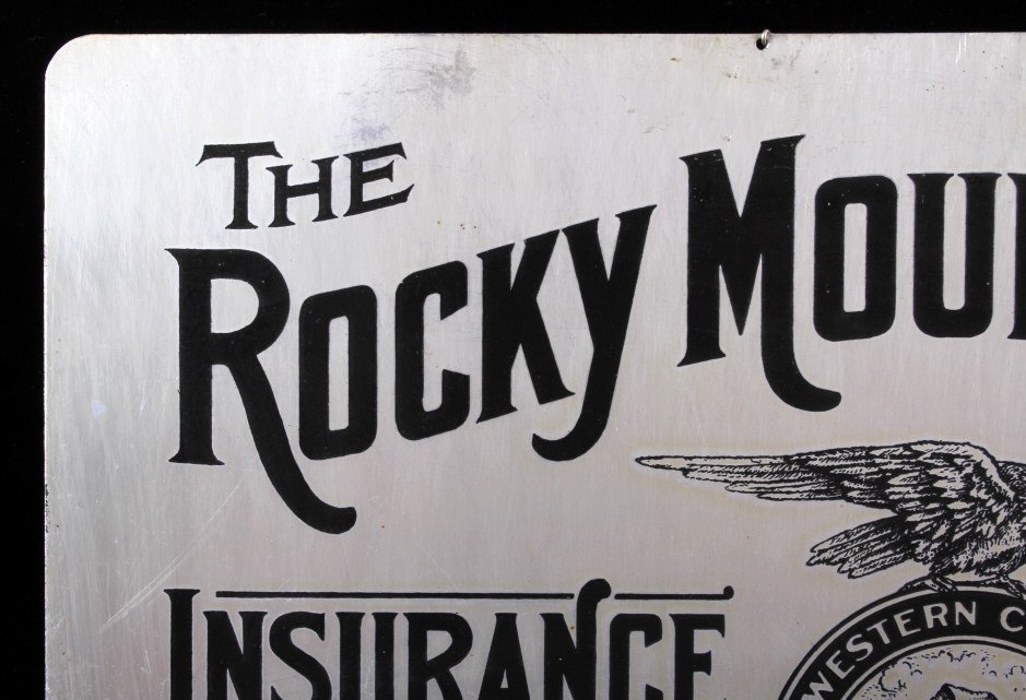 Rocky Mountain Fire Insurance Sign Great Falls MT - 7
