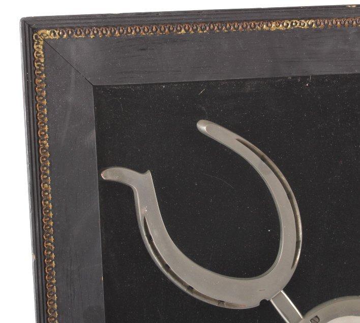 Custom Crafted Montana Ranch Horseshoe Framed Art - 7