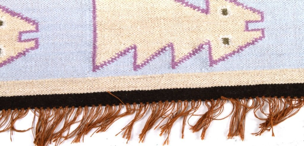 Hand Woven South American Wool Rug By E Sulca - 6