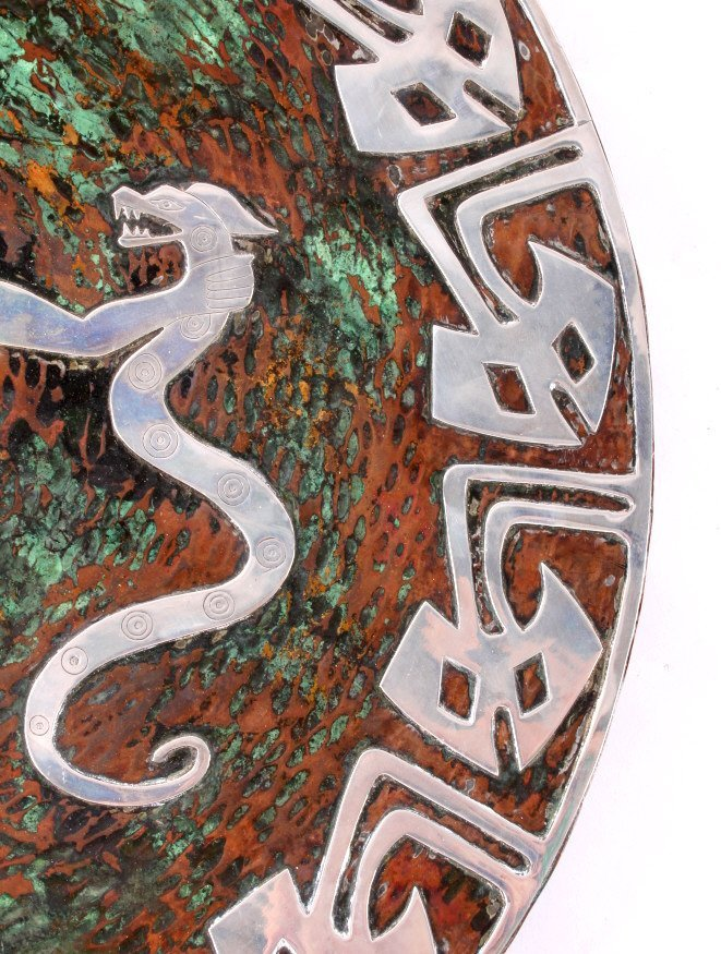 Zuni Copper and Sterling Silver Bear Kachina Art - 8