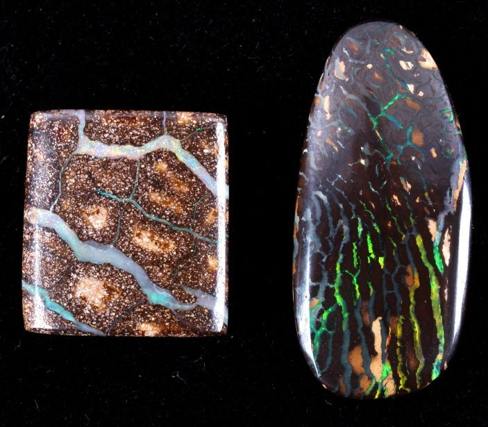 Australian Boulder Opal Cabochons
