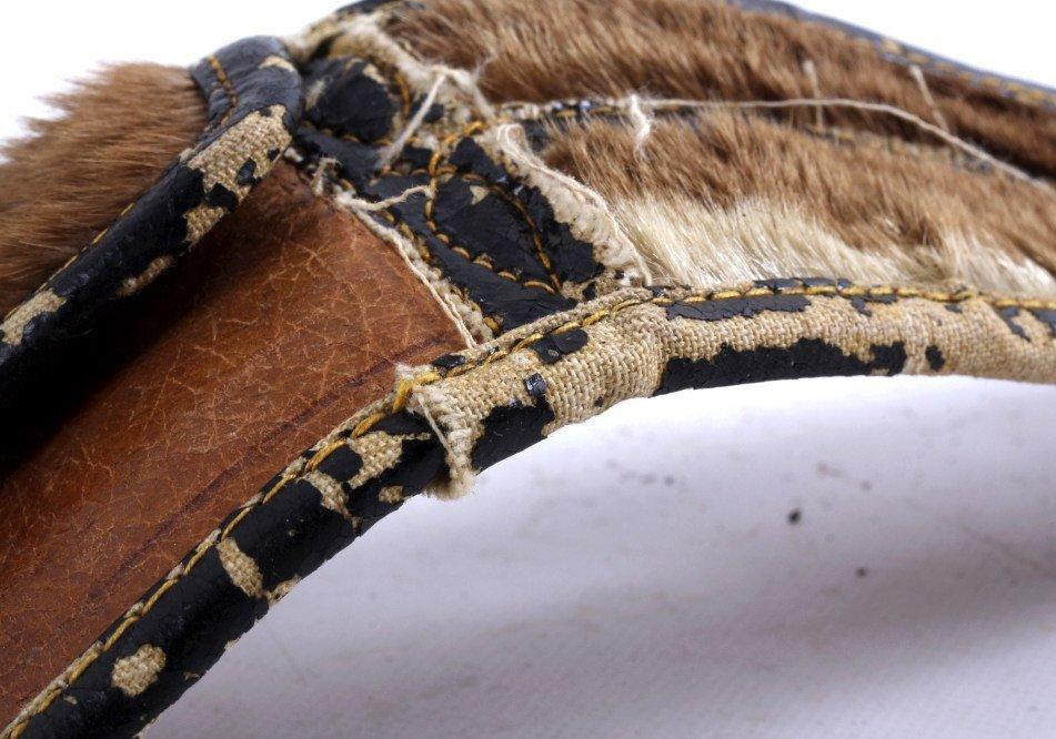 Montana Otter Fur Cowboy Money Belt 19th C. - 10
