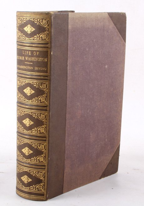 The Life Of Washington By Washington Irvine 1867