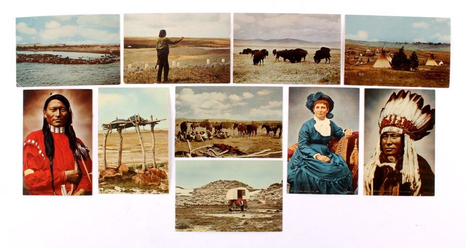 L.A. Huffman Postcard Collection
