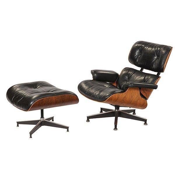 Eames Herman Miller Lounge Chair & Ottoman 1960-70