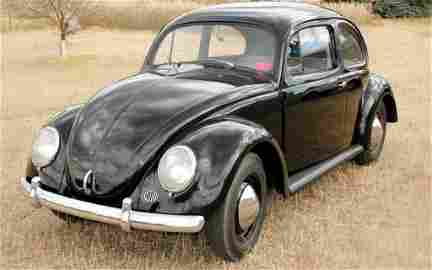 """1953 Volkswagen """"Zwitter"""" Beetle Split Window RARE"""