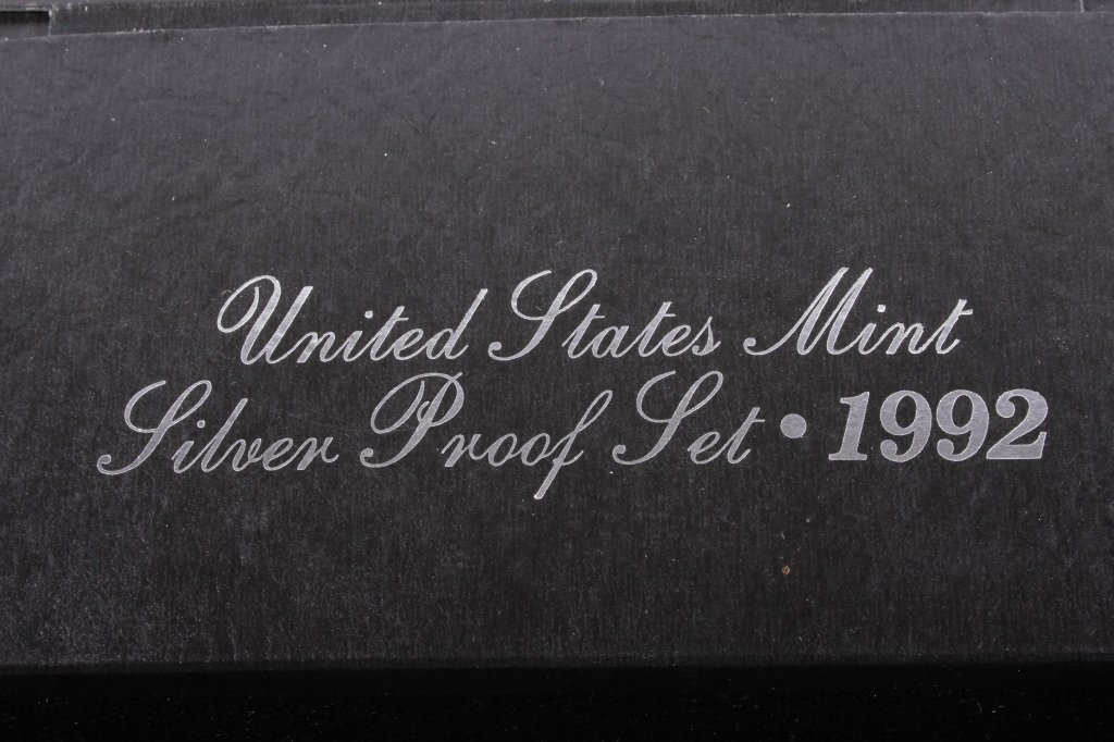 1992-S US Mint Silver Proof Set (5 Coins) - 6