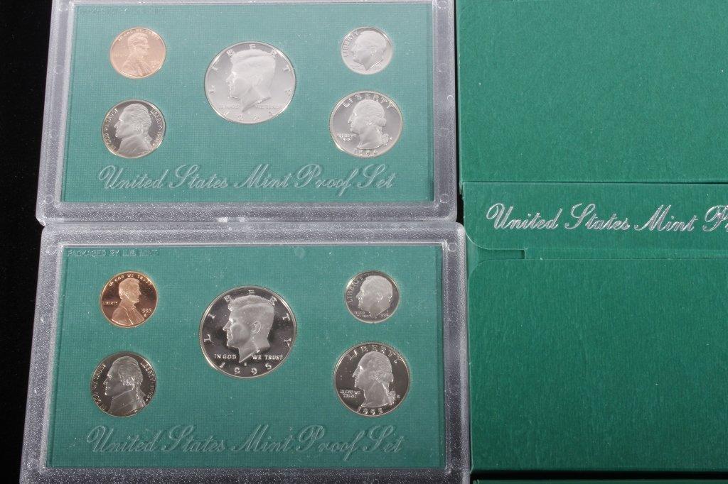 1994-1998 US Mint Proof Sets (5 Sets) - 2