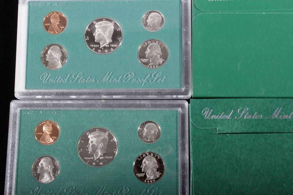 1994-1998 US Mint Proof Sets (5 Sets) - 3