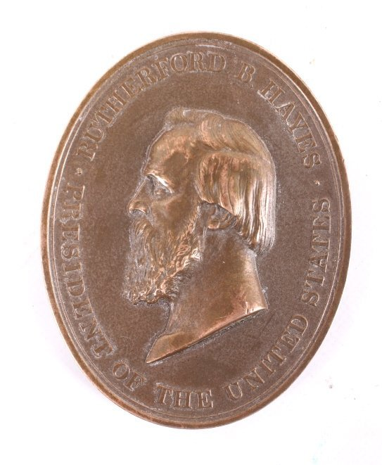 Rutherford B. Hayes Indian Peace Medal