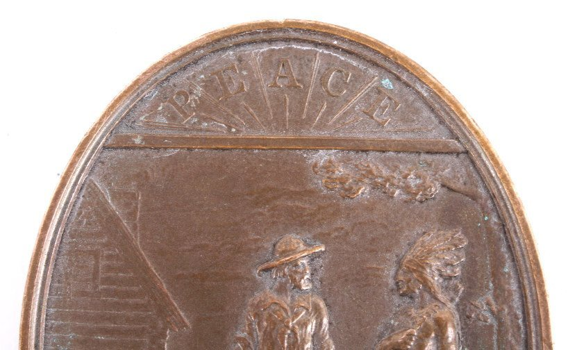 Rutherford B. Hayes Indian Peace Medal - 4