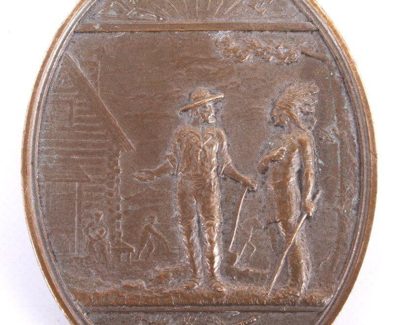 Rutherford B. Hayes Indian Peace Medal - 5