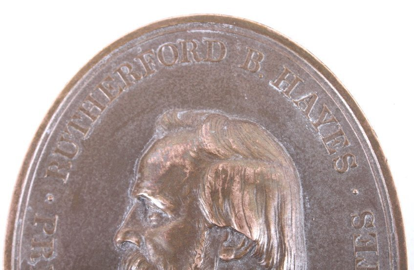 Rutherford B. Hayes Indian Peace Medal - 7
