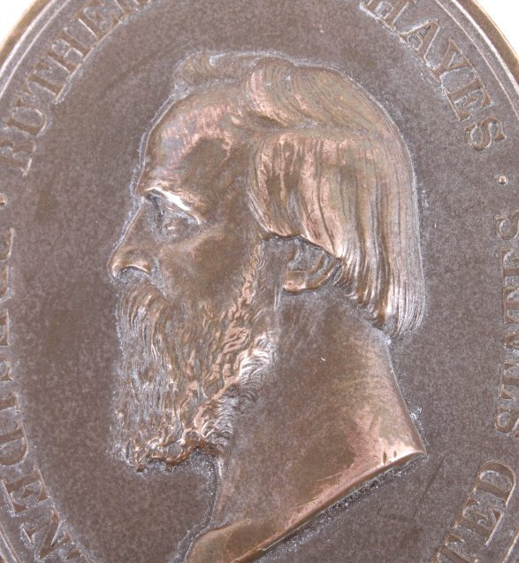 Rutherford B. Hayes Indian Peace Medal - 8
