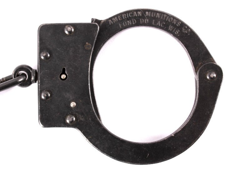 American Munitions Handcuffs with Key - 3