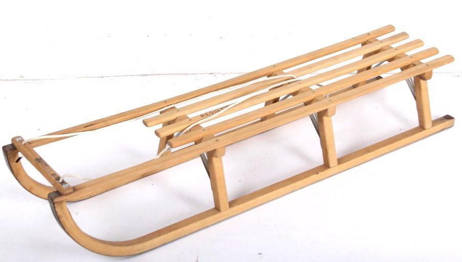 Norwegian Sledge Wood Sled