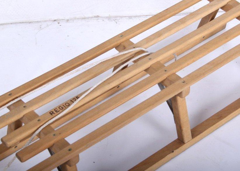 Norwegian Sledge Wood Sled - 3