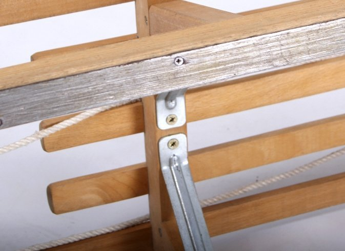 Norwegian Sledge Wood Sled - 7