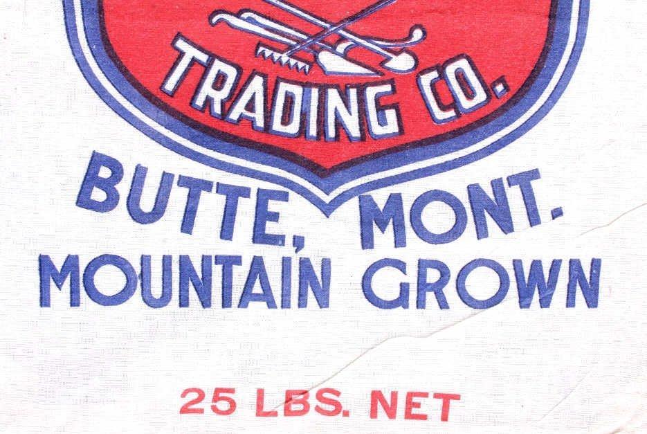 Farmers Union Potato Sack Butte Montana - 3
