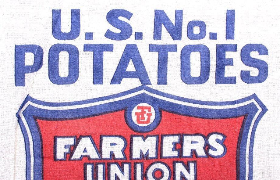 Farmers Union Potato Sack Butte Montana - 4
