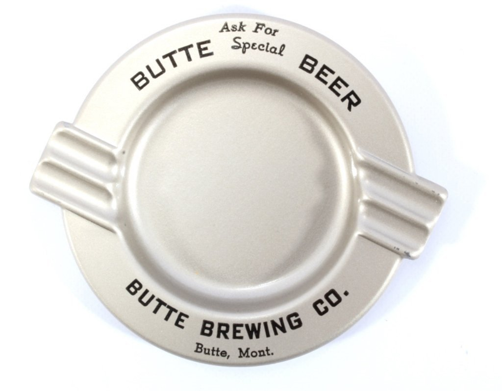 Butte Brewing Company Ashtray Tip Tray NOS - 2