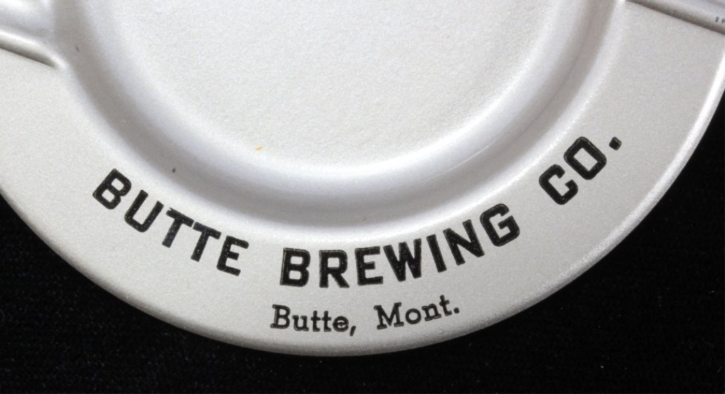 Butte Brewing Company Ashtray Tip Tray NOS - 4