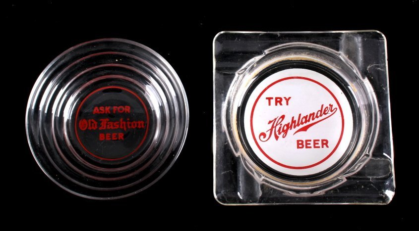 Montana Beer Advertising Ashtray Collection - 5