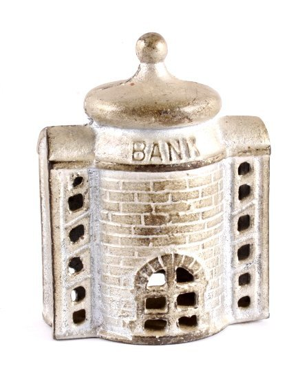 Antique Cast Iron Coin Bank Collection - 4