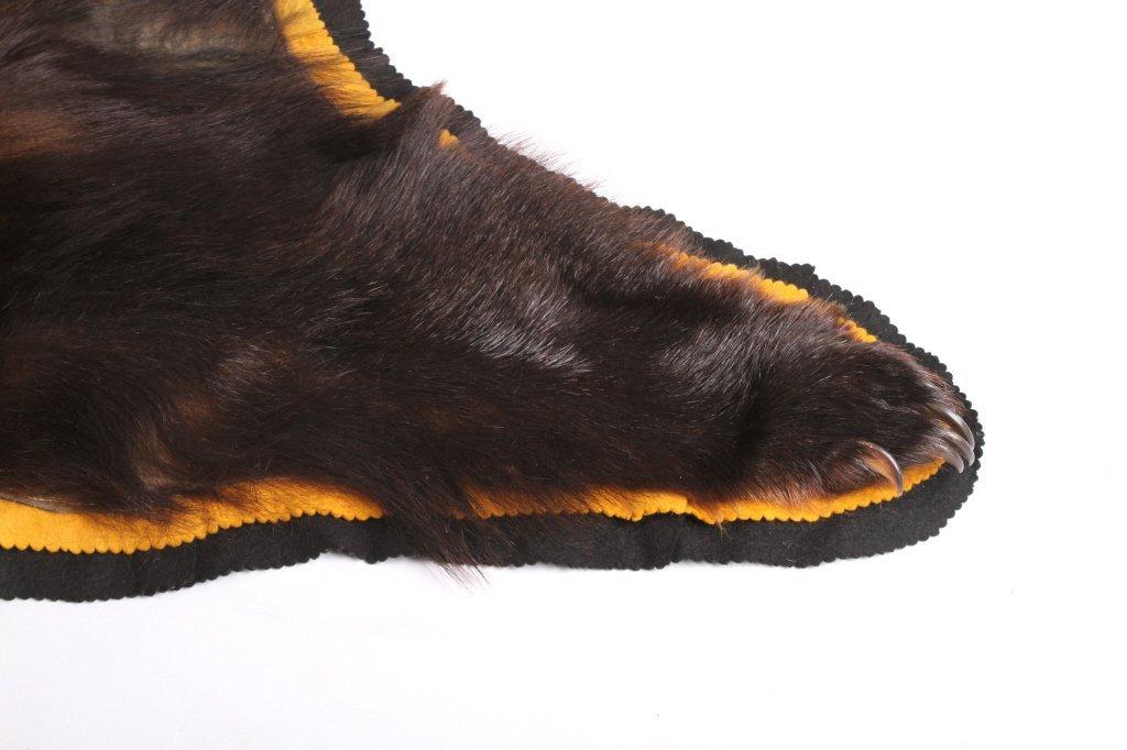 Montana Black Bear Rug - 6
