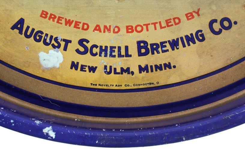 August Schell Deer Brand Beer Advertising Tray - 10