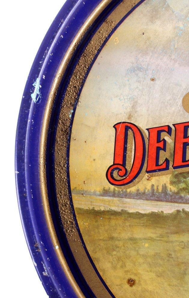 August Schell Deer Brand Beer Advertising Tray - 8