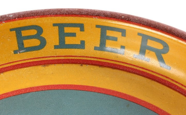 Bozeman Beer Gallatin Brewing Tray Montana Pre-Pro - 4