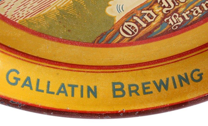 Bozeman Beer Gallatin Brewing Tray Montana Pre-Pro - 6