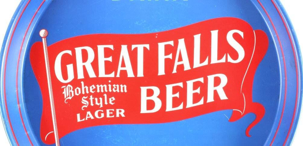 Great Falls Bohemian Style Lager Beer Tray Montana - 3