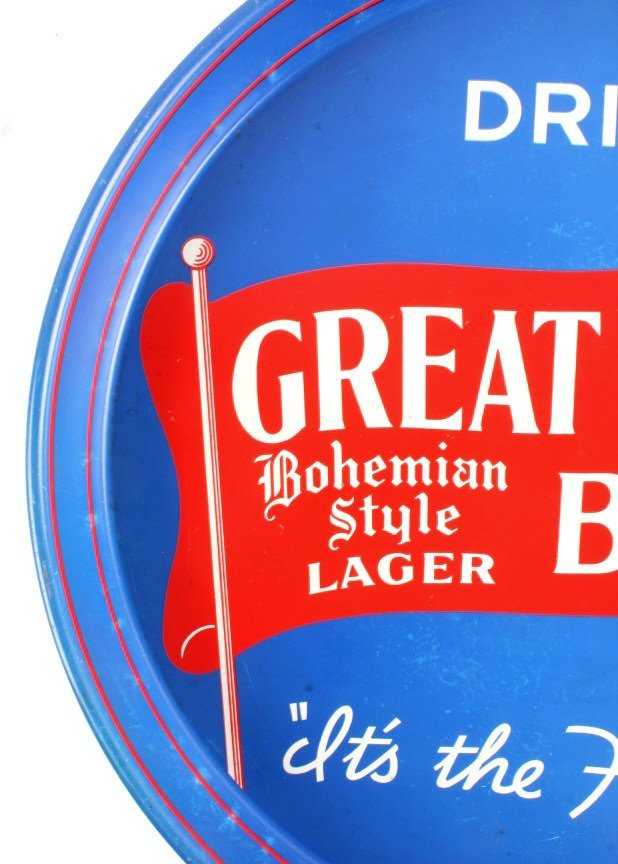 Great Falls Bohemian Style Lager Beer Tray Montana - 7